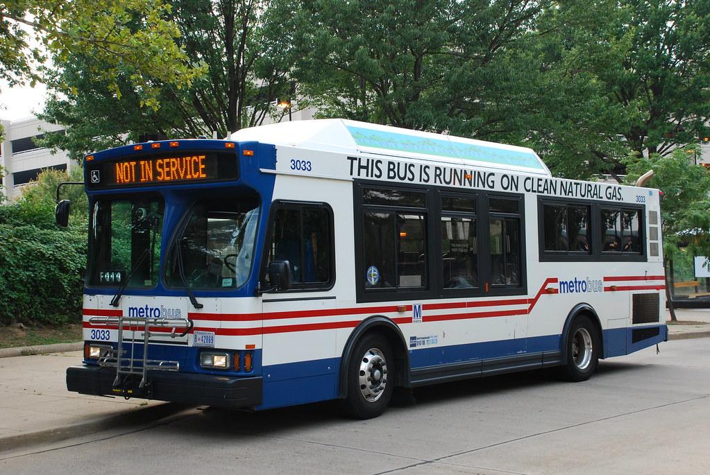 Metro Bus Cleaners Dc : Dc metrobus washington metro orion vii bus at west falls