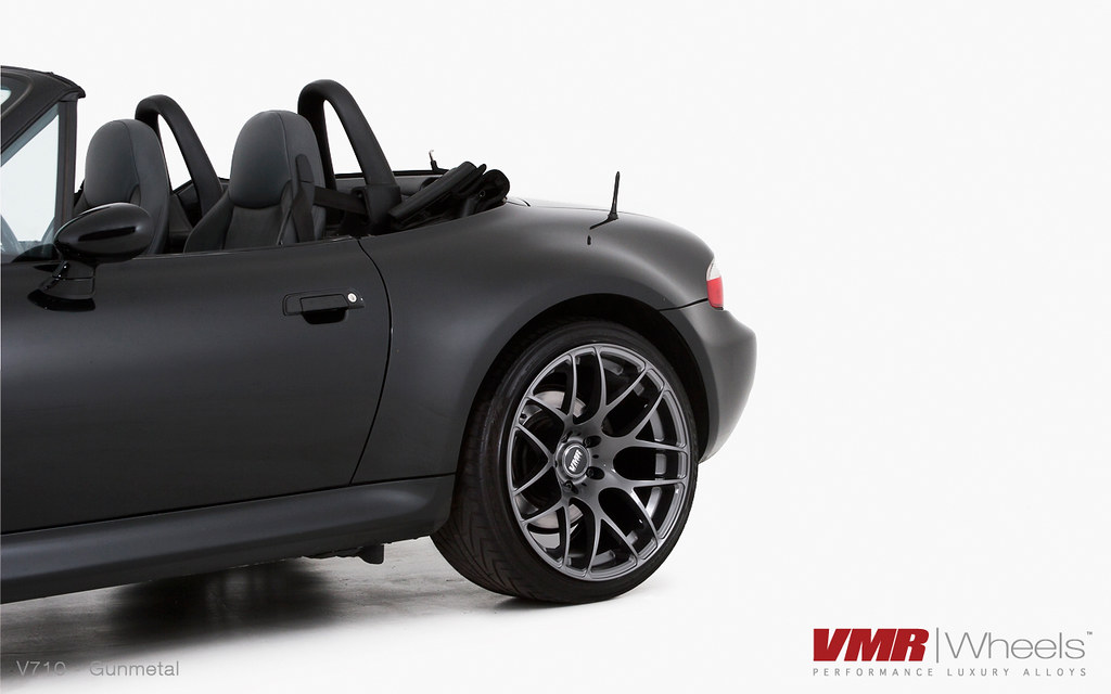 Vmr Wheels 19 Quot Gunmetal V710 On Jet Black Bmw Z3 M Coupe Flickr