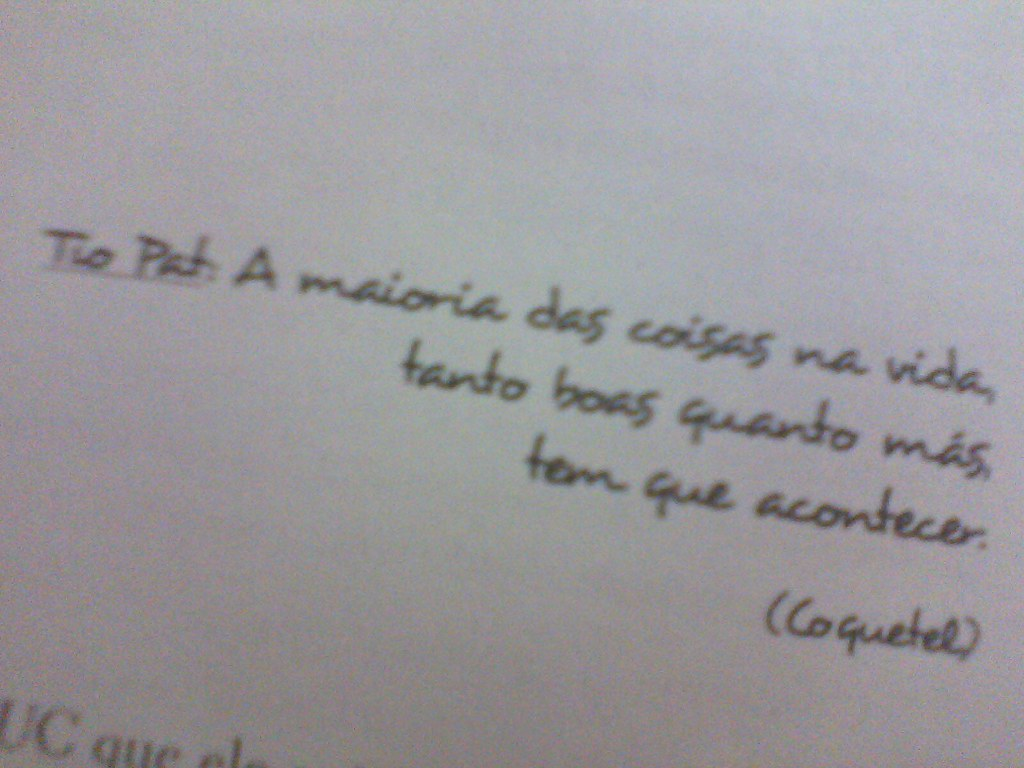 Frase Do Livro Fazendo Meu Filme 3 Milena Galvão Flickr
