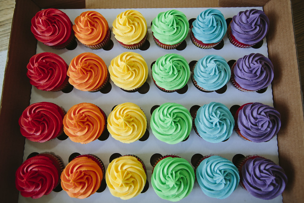 Pride Cupcakes My Birthday Fell On The Same Day As