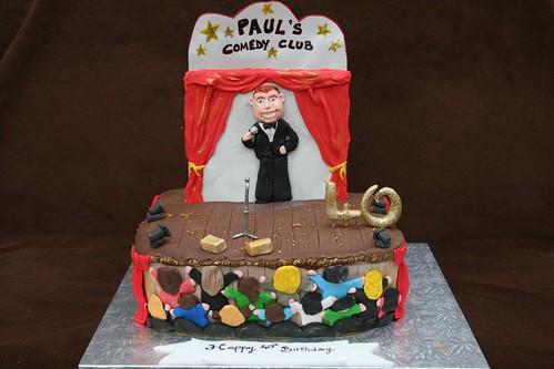 Cake For Comedian Jenny Crossword Clue