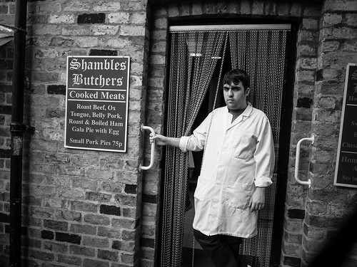 Shambles Butcher in York | by Peterjthomson