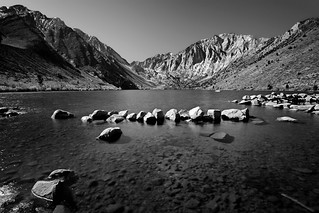 Convict Lake in B&W | by Dave Toussaint (www.photographersnature.com)