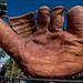 Giant 1927 Old-Time Four-Fingered Baseball Glove