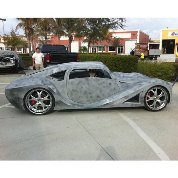 Custom Car For Will.I.am Built By @thegarageinc