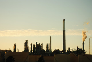Refineries at Sunset 1 | by C.M. Keiner