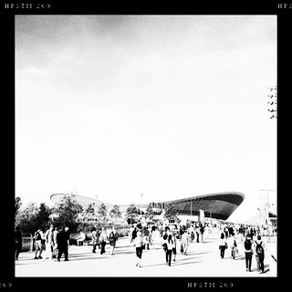 Velodrome, London 2012 Olympic Park | by firstnameunknown