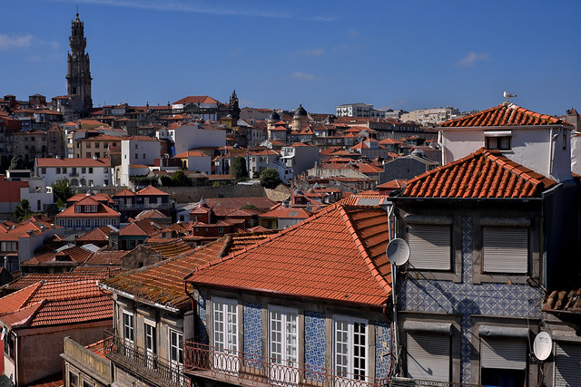 View from Sé do Porto