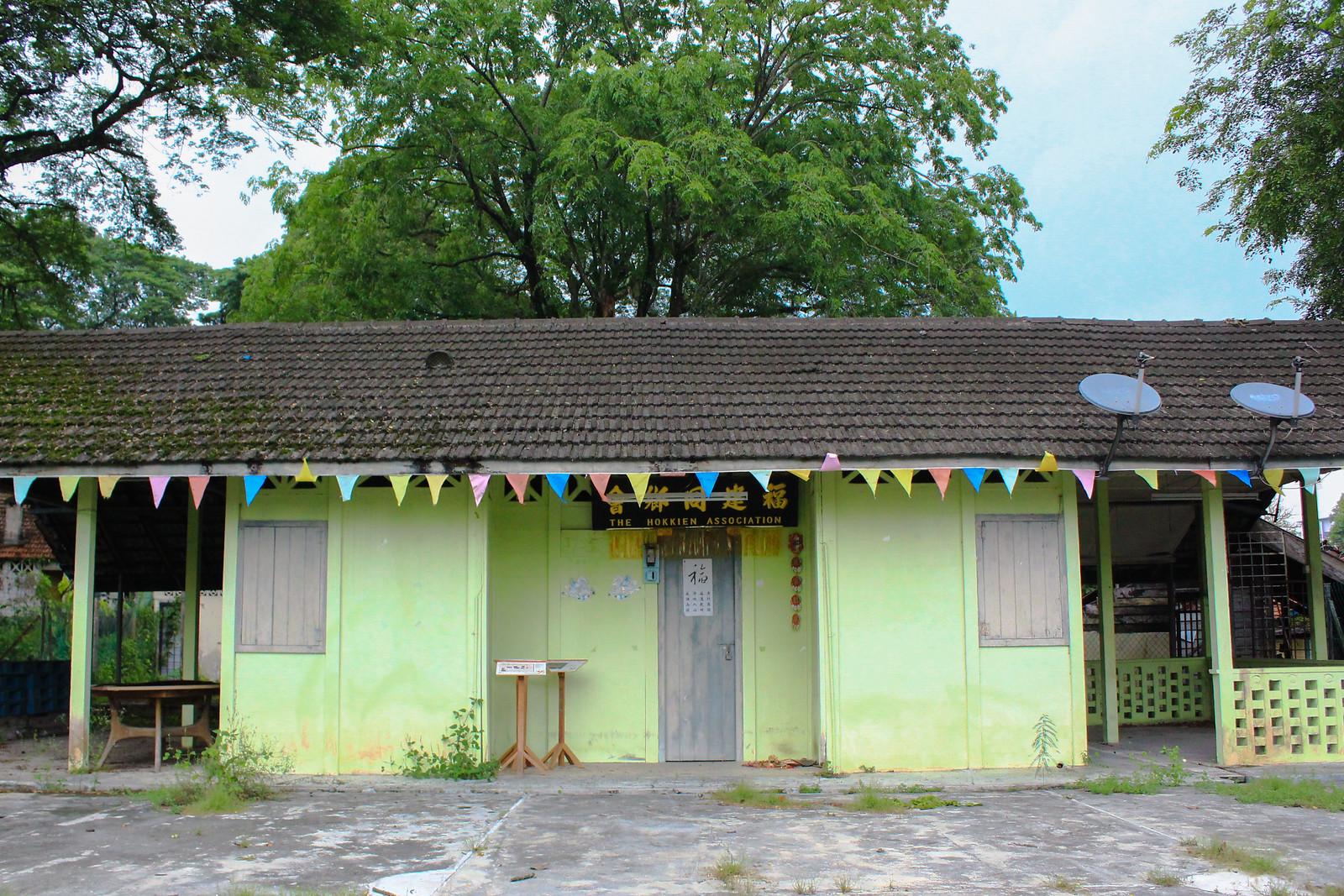 馬來西亞華人的會館文化在院內一度興盛,福建同鄉會過去曾擁有許多會員,但如今卻也凋蔽。(攝影:何欣潔)