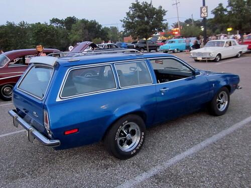 1973 Ford Pinto Wagon The Five Lug Wheels Make Me Think