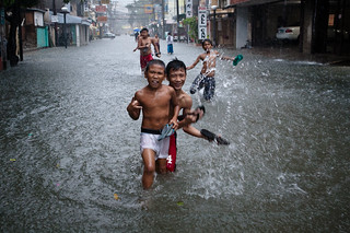 Typhoon Saola floods Manila. | by Matt Paish 2014