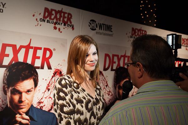 Dexter Season 6 cast member Mariana Klaveno interviews wit ...