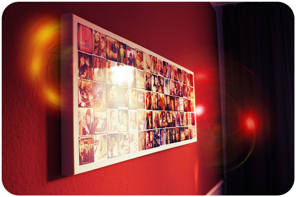... DIY - Instagram Wall Art Make your own instagram canvas | by niner bakes & DIY - Instagram Wall Art: Make your own instagram canvas | Flickr