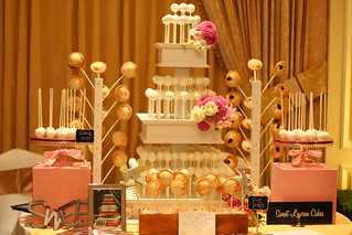 Cake and Pie Pop Display at the Ritz Carlton | by Sweet Lauren Cakes