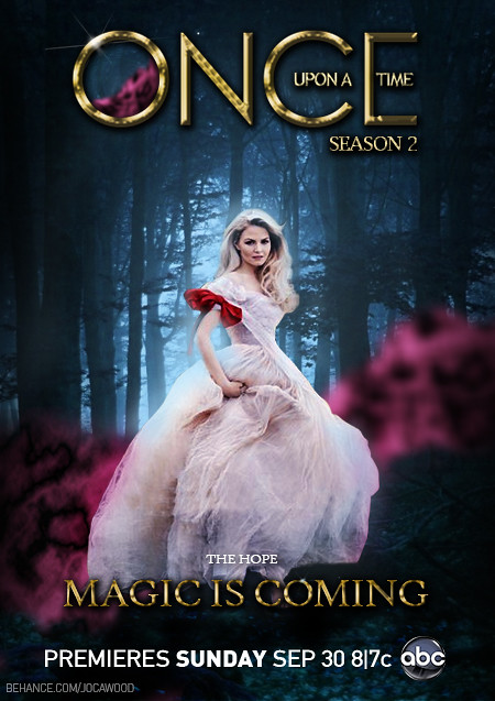 Once Upon a Time - Emma Swan Poster   www.behance.net ...
