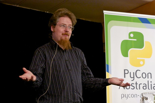 PyCon Australia 2012 - Opening | by Christopher Neugebauer