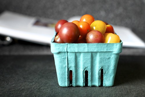 a basket of pretty tomato marbles | by smitten kitchen