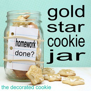 gold star cookie jars | by thedecoratedcookie