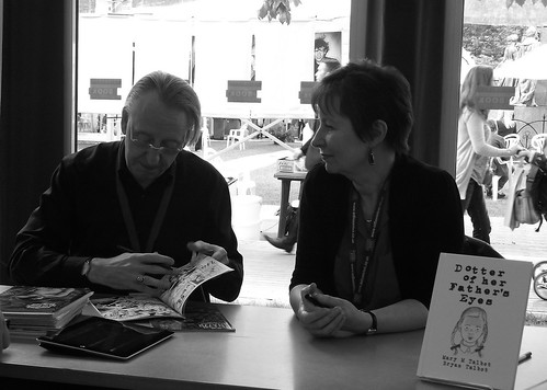 Edinburgh Book Festival 2012 - Bryan and Mary Talbot | by byronv2