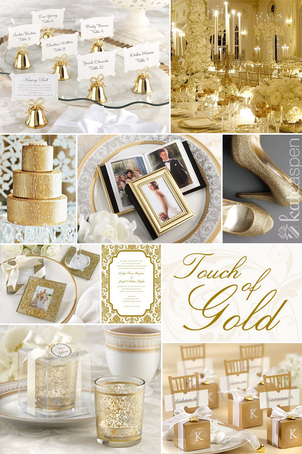 gold inspiration quot wedding favors quot golden favor