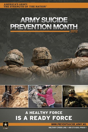 Suicide Prevention Month Poster | by Army Medicine