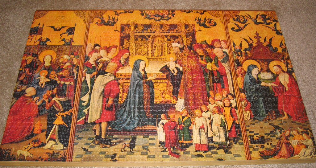 ravensburger 3000 puzzle l adoration des mages flickr