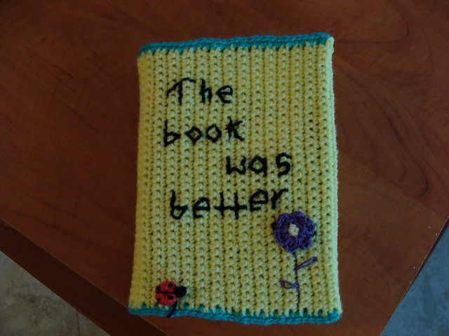 Book Cover Crochet ~ Crochet book cover the was better … flickr