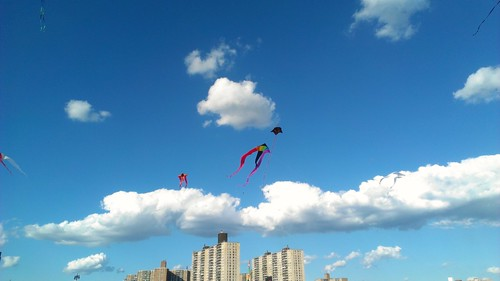 high rises, kites and clouds | by rowan5