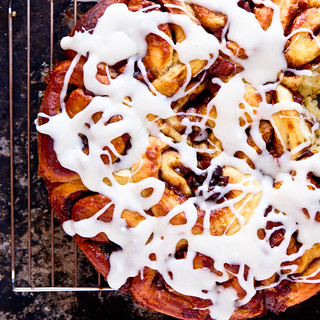 Apple Cinnamon Rolls with Jack Daniels Cream Cheese Icing | by TheBrewer&TheBaker