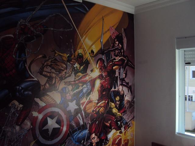 Papel de parede super heróis Flickr Photo Sharing!