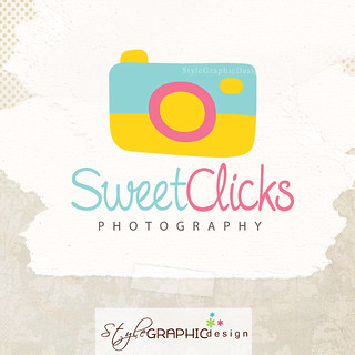 Cute Photographer logo | by StyleLogoDesign