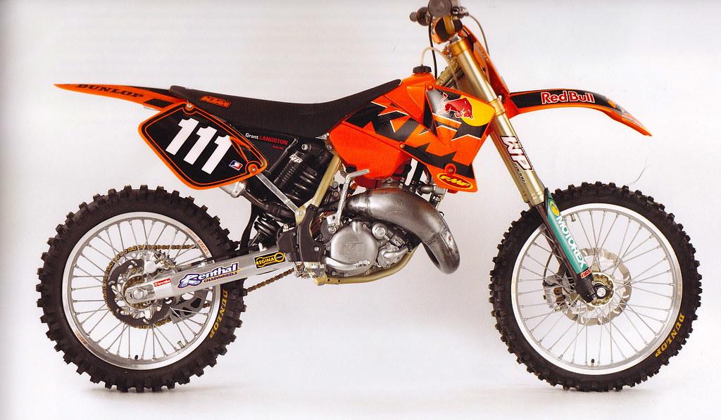 Ktm >> Grant Langston's 2003 Factory KTM 125 SX | Tony Blazier | Flickr