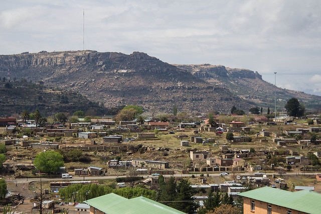 The African Kingdom of Lesotho is composed of mainly mountainous land where many villages are accessible by hiking, horseback, or flying.