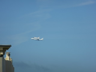Endeavor Space Shuttle over San Francisco | by londonmark