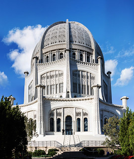 Baha'i Center - Panoramic - Evanston, IL | by Rick Drew - 16 million views!