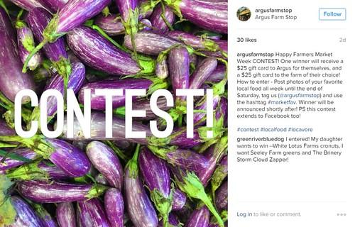 Argus Farm Stop photo contest