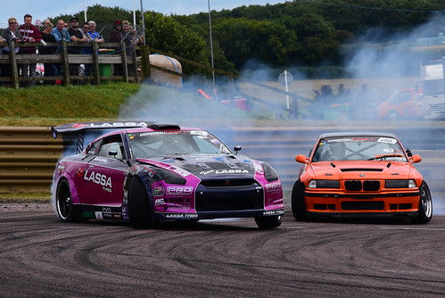 Simon Perry - Richard Grindrod, British Drift Championship, Lydden Hill 2016