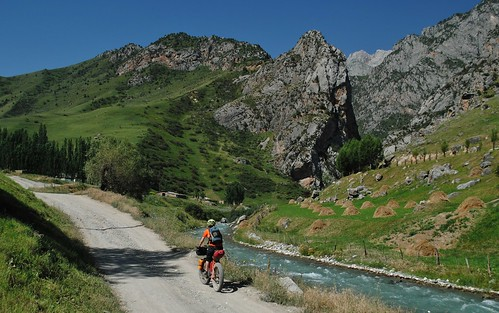 Heading for the Murdash gorge | by Pikes On Bikes