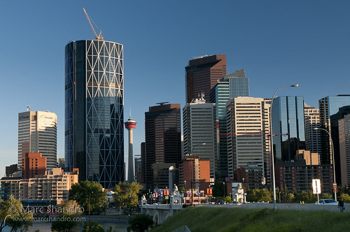 Downtown Calgary Summer Evening | by Marc Shandro