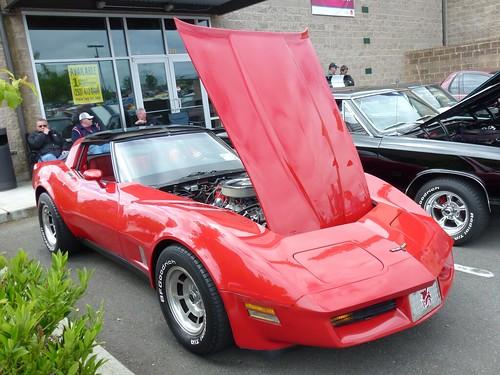 Baxter Auto Parts Show Shine 1981 Chevy Corvette
