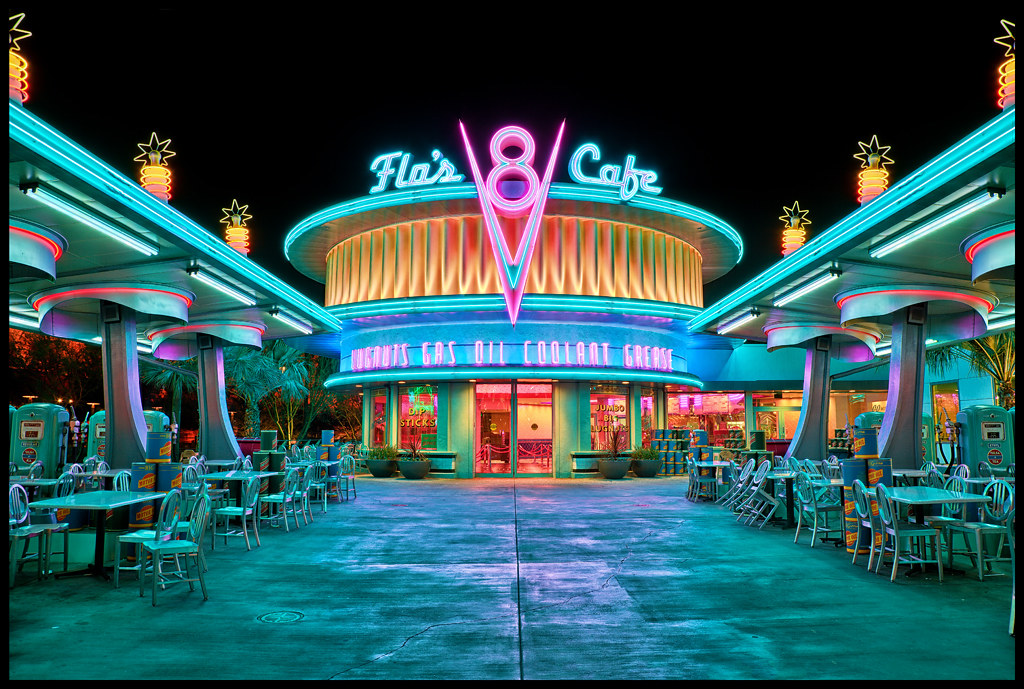 Flo S V8 Cafe One Of The Most Visually Stunning