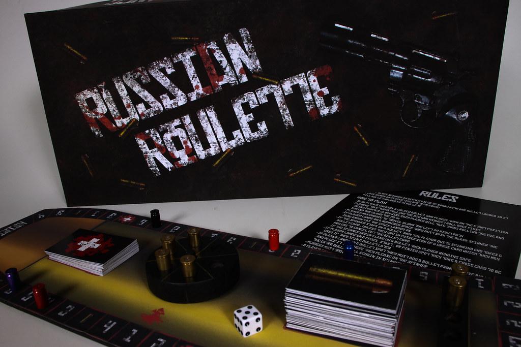 Russian Roulette Gambling Game