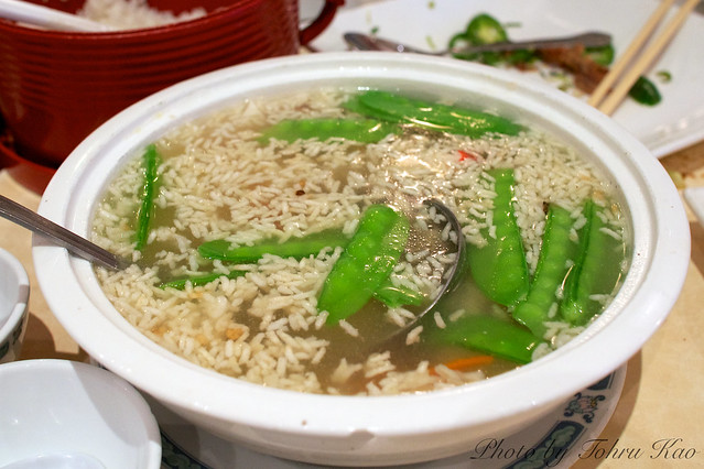 Sizzling Rice Soup 鍋巴湯 - sizzling rice soup