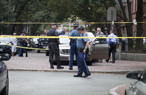 Officer Involved Shooting Yarmouth St in Boston's South End | by Courtney Sacco