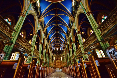 notre dame basilica | by Rex Montalban Photography