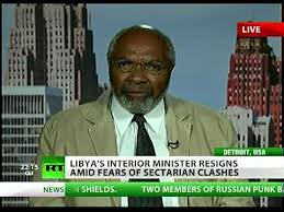 Abayomi Azikiwe, editor of the Pan-African News Wire, featured on RT satellite television discussing the political and security situation in the post-Gaddafi North African state of Libya. Azikiwe is a frequent analyst for varioius media outlets worldwide. | by Pan-African News Wire File Photos