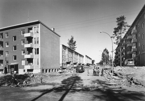 Oppsal 1962 - mellom blokker | by Riksarkivet (National Archives of Norway)