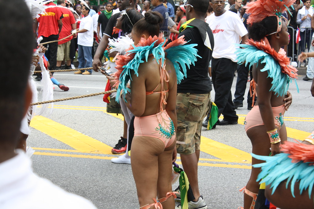 The phattest asses of jackson heights dominican day parade - 2 part 2