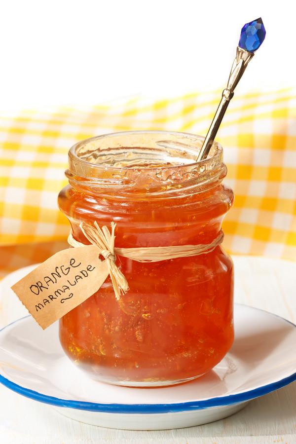 Orange marmalade.