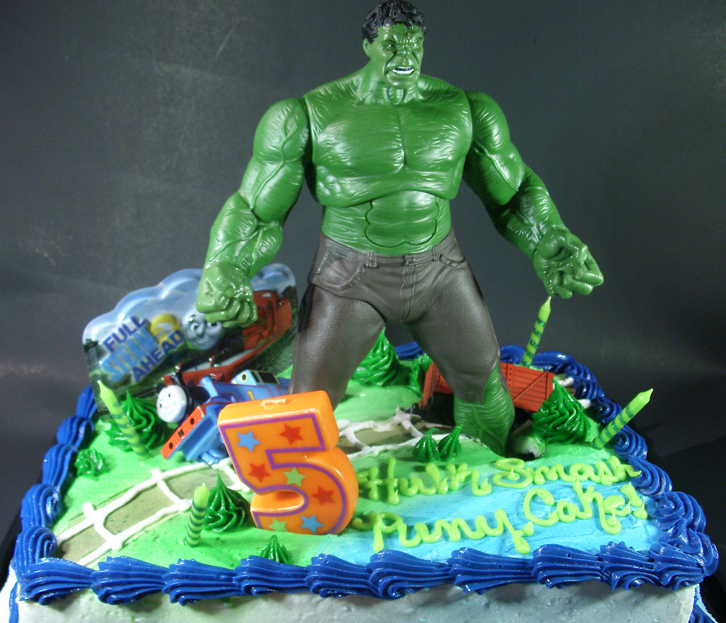Kid Hulk Cake Ideas 30184 Incredible Hulk Birthday Cake Id